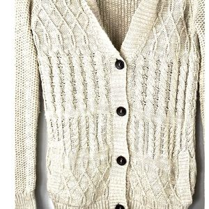 Anthropologie coincidence & chance cardigan shawl